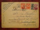 1944-C.P. circ. -CENZURAT HUSI 7, Necirculata, Printata