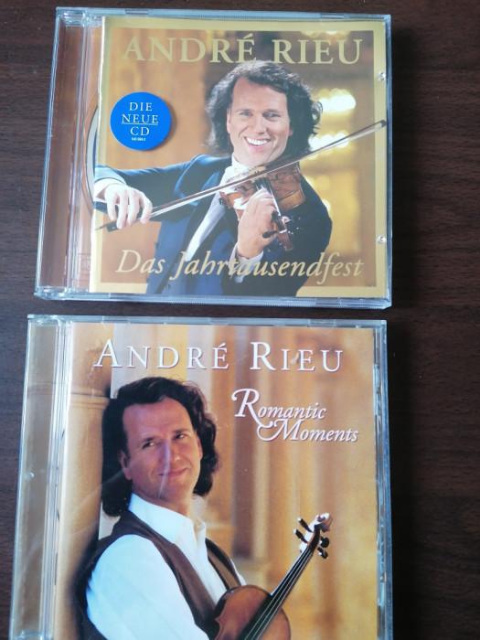 LOT 2 CD ORIGINALE ANDRE RIEU