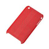 BACK COVER CASE IPHONE 3G/3GS SITA ROSU, M-Life