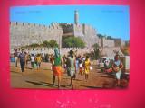 HOPCT 66917  CETATEA IERUSALIM  -ISRAEL-STAMPILOGRAFIE-CIRCULATA