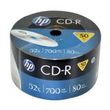 CD-R HP capacitate de stocare 700 MB, viteza 52x, set 50 bucati
