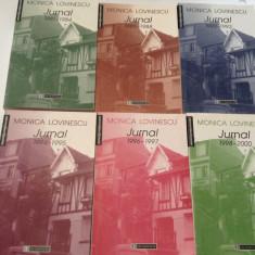 MONICA LOVINESCU  -JURNAL  6 VOLUME -  SERIE COMPLETA--RF17/3
