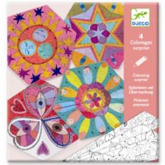 Crafturi din hartie Djeco Mandala constelatii