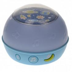 Lampa de veghe, jucarie pentru copii cu proiectie de lumini si muzica - O1833A