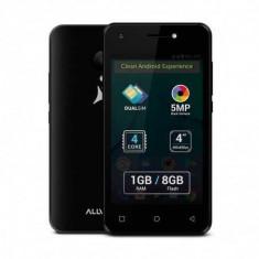 Telefon mobil Allview P43 Easy, 1GB RAM, 8GB ROM, Quad Core, Android 7.0, Dual Sim
