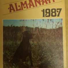 RWX 56 - VANATORUL SI PESCARUL SPORTIV - ALMANAH - 1987