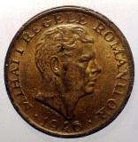 1.334 ROMANIA MIHAI I 2000 LEI 1946 EROARE Punct în relief sub M (ROMANILOR)