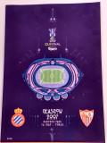 Program meci fotbal RCD ESPANYOL-FC SEVILLA (finala Cupa UEFA (16.05.2007)