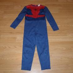 costum carnaval serbare spiderman pentru copii de 3-4 ani