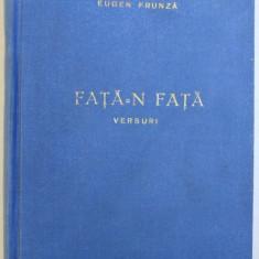 FATA - N FATA - VERSURI de EUGEN FRUNZA , 1954 , DEDICATIE*
