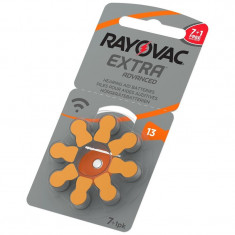 Baterii pentru proteze auditive RAYOVAC 13 PR 48 Zinc-Aer 8 baterii / set
