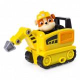 Mini picamer si figurina Rubble Paw Patrol Ultimate Rescue Salvarea suprema