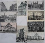 9 CARTI POSTALE (AUSTRO-UNGARIA SI INTERBELIC)  - CERNAUTI, Ambele, Romania 1900 - 1950