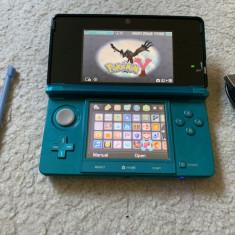 Nintendo 3DS MODAT card 16GB cu jocuri pe el : MARIO, 4 x ZELDA , POKEMON X Y
