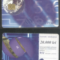 Romania 1998 Telephone card Terra CT.033