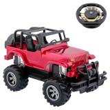 Jeep cu telecomanda tip volan, 20 cm, cablu UBS, Oem