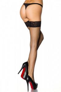 Ciorapi Plasa Negri Banda Adeziva