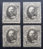 LUXEMBURG 1891 - Marele Duce Adolf de Luxemburg MNH (RAR), Nestampilat