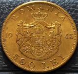 Moneda istorica 500 LEI - ROMANIA REGAT, anul 1945   *cod 5345 = UNC