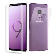 Folie Plastic Samsung Galaxy S9 Flippy Fata-Spate Transparent
