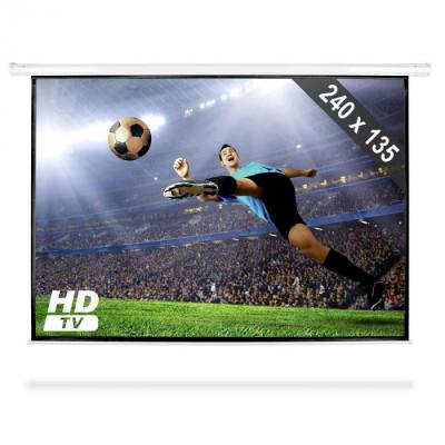 FrontStage Ecran Proiecție tip Roll Up HDTV 240x135 cm foto