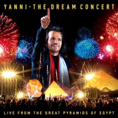 Yanni Dream Concert:Live from the Great Pyramids of Egypt (dvd+cd) foto