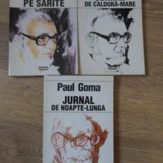 JURNAL PE SARITE. JURNAL DE NOAPTE-LUNGA. JURNAL DE CALDURA-MARE VOL.1-3 - PAUL