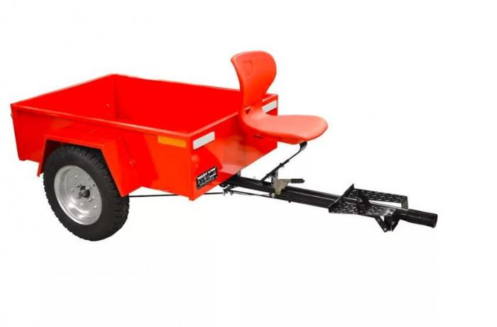 Remorca capacitate 300 kg pentru Hecht