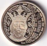 Romania 50 Bani 2013 (Mircea cel Batran) 23.75 mm, PROOF, KM-260 UNC !!!