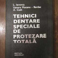 Tehnici Dentare Speciale De Protezare Totala, 1981