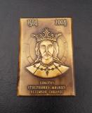 Placheta Stefan cel Mare si Sfant , medalie