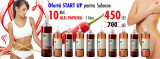OFERTA START UP - Ulei de masaj Anticelulitic cu Paprika - Yamuna - 1.000 ML
