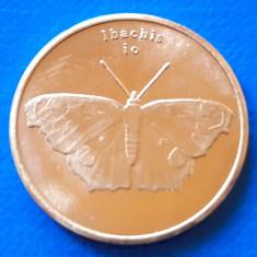 Sulawesi 5 rupia 2019 UNC Fluture Inachis io