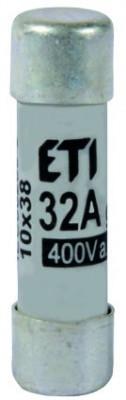 Siguranța fuzibila cilindrice CH10x38 gG 32A/400V , Joasă Tensiune ETI foto