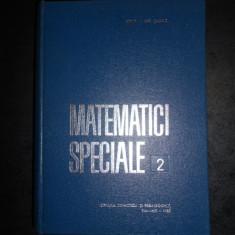 I. GH. SABAC - MATEMATICI SPECIALE Volumul 2