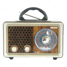 Radio retro Meier M-150U, USB, slot micro SD