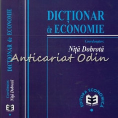 Dictionar De Economie - Nita Dobrota