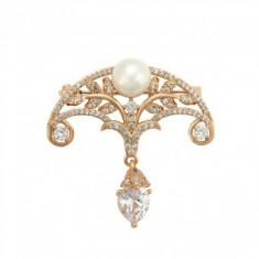 Brosa Anebris Brilliant Pearl