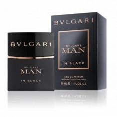 Apa de parfum Barbati, Bvlgari Man in Black, 30ml, 30 ml