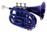 Trompeta de buzunar Cherrystone Albastru