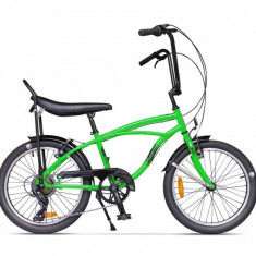 Bicicleta Pegas STRADA MINI VERDE NEON 7S