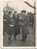 C231 Fotografie ofiter roman cu sabie al doilea razboi mondial