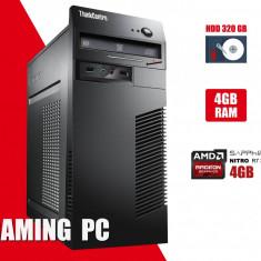 Calculator Lenovo m72 G550 4GB DDR3 HDD 320GB Video Gaming R7 370 4GB DVD Rom