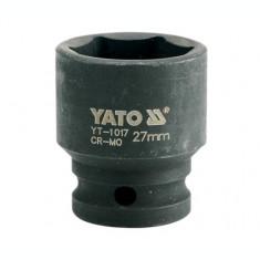 Cheie tubulara hexagonala de impact 27 mm YATO
