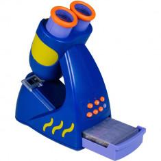 Microscopul vorbitor Geosafari, 20 de lame cu 60 de imagini, 23 cm, 4 - 6 ani