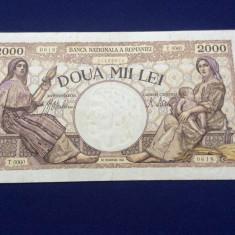 BANCNOTE ROMANIA - 2.000 LEI 18 NOIEMVRIE 1941 - SERIA T. 0060 0618