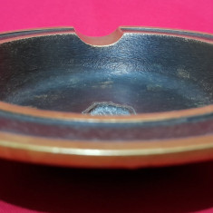 Scrumiera de colectie bronz masiv 2+1 gratis