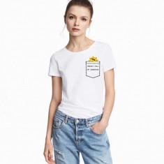 Tricou dama alb - Sunshine, 2XL, L, M, S, XL