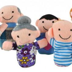 Set Family 6 marionete - papusi pentru degete
