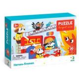 Puzzle - Eroii pompieri (30 piese) PlayLearn Toys, Dodo